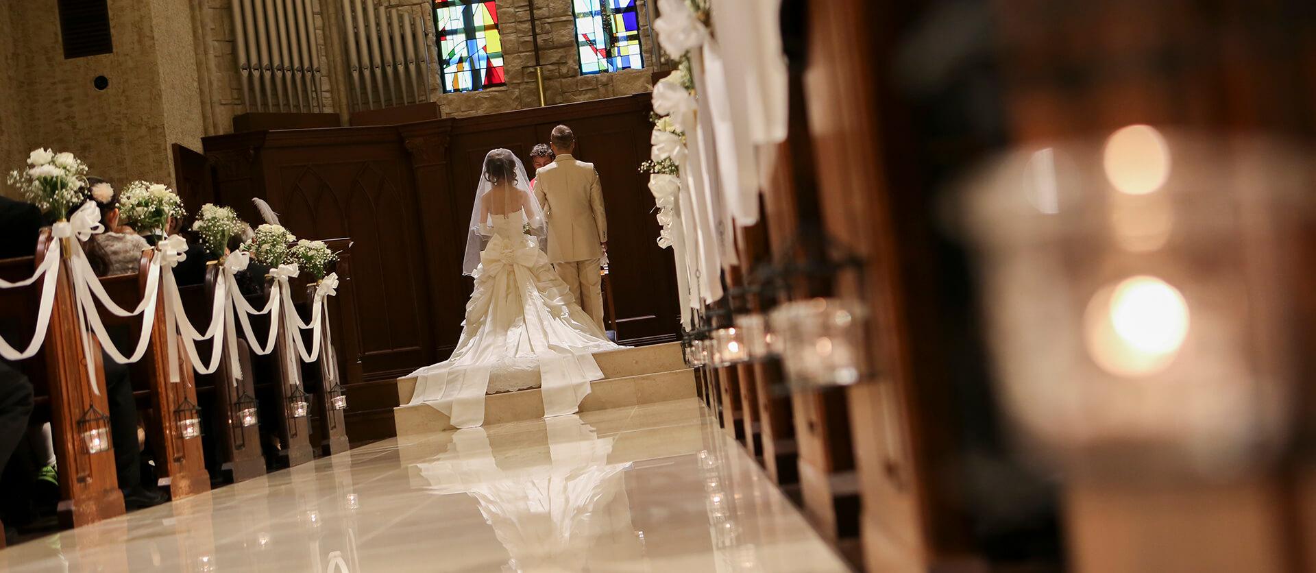 ウエディング(結婚式当日)